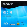 Sony 25 GB 6x BD-R Blu-ray Media -- BNR25R3H