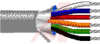 Cable; 15 cond; 24AWG; Strand (7X32); Foil shielded; Chrome jkt; 500 ft. -- 70005243 - Image
