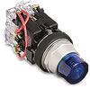 Indicating Light, 30mm metal, 120 VAC/DC full voltage ... -- HT8GVBV7
