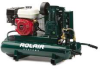 ROLAIR 5.5 HP, 8.9 CFM@100 PSI, 9 Gallon Twin Tank -- Model# 4090HK17-0001