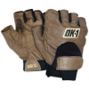 Half-Finger Thumb Web Impact Gloves - Large -- GLV1029L