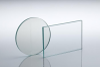 Plate beamsplitter, Standard-range, 33/67 Visible 450-700nm, 65x40x1mmthk -- BGF6506 -Image