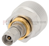 7mm to 2.4mm Male (Plug) Adapter, Passivated Stainless Steel Body, 1.15 VSWR -- SM3368