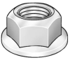 Hex Locknut,1/4-20,0.425 W,PK 250 -- 2GY49