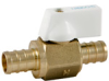 Lead-Free PEX Mini Ball Valve -- NPR50A-LF