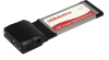 USB 3.0 2-Port USB ExpressCard Adapter -- USR8401 - Image