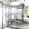 Semi-Custom Revolving Door with Clad Constructed Wings -- Crane 2000 Series