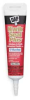 Siliconized Latex Caulk,White,5.5 Oz -- 2KVH1
