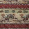 Deer/Leaf Frieze Chenille Fabric -- RH-Deer Valley -- View Larger Image