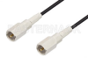 FME Plug to FME Plug Cable 48 Inch Length Using RG174 Coax, RoHS -- PE35957LF-48 -Image