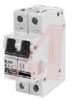 Circuit Breaker;Therm/Mag;Hndl;Cur-Rtg 10A;DIN Rail;2 Pole;Screw Snap;Z -- 70077015