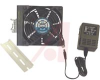 Fan;Kit;Incl.Guard,DIN Rail;Mtg Tape;Hdwr;AC;120V;19W;65/120CFM;1600RPM;120x32mm -- 70103513