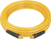 "100', 1/4"" diameter, polyurethane air hose with 1/4"" NPT male fittings -- DAP14100 - Image"