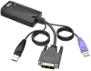 NetDirector DVI USB Server Interface Unit with Virtual Media and CAC Support (B064-IPG Series), USB and DVI -- B055-001-UDV - Image