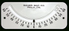 "Manual ""Ball-in-Tube"" Inclinometer -- 2055 Inclinometer"