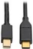 USB 3.1 Gen 1 USB-C to Mini DisplayPort 4K Adapter Cable (M/M), Thunderbolt 3 Compatible, 4K @60Hz, 6 ft. -- U444-006-MDP - Image