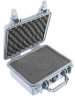 Pelican 1200 Case with Foam -Silver   SPECIAL PRICE IN CART -- PEL-1200-000-180 -Image
