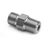 """3/8"""" male NPT x male Quick-test, with check-valve, S.S. -- QTHA-3MS1 -- View Larger Image"""