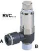 Regulator with Quick Connector -- RVC & RVU