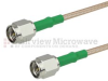 SMA Male (Plug) to SMA Male (Plug) Cable M17/113-RG316 Coax Up To 3 GHz, 1.35 VSWR in 36 Inch and RoHS Compliant -- FMC0202316LF-36 -- View Larger Image