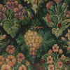 Bright Floral/Fruit Chenille Tapestry Fabric -- R6350 - Image