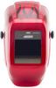 Jackson Safety W40 Insight HaloX Red Helmet Assembly - Auto-Darkening Lens - Battery Powered - 3.94 in Viewing Width - 2.36 in Viewing Height - 036000-40714 -- 036000-40714