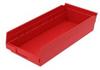 Polypropylene Shelf Bins -- H30158-RD -Image