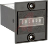 Counter; Economical Miniature Totalizer; 115 VAC; Panel Mount; Wire, 22 AWG -- 70132834 - Image