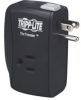 2 AC Outlets, Direct Plug-in Surge Suppressor with Modem/fax Surge Protection -- TRAVELER