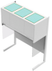 Vertical Laminar Flow Clean Bench -- CAP412 Mode OB