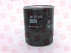 MANN FILTER W712/4 ( OIL FILTER, SPIN-ON ) -Image
