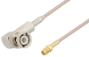 BNC Male Right Angle to SMA Female Cable 50 cm Length Using RG316 Coax -- PE3W04854-50CM -Image