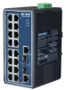 16+2G Combo Port Gigabit Unmanaged Industrial Ethernet Switch -- EKI-7626CI-AE