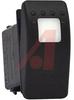 Switch, Rocker, SINGLE POLE, ON-NONE-(ON), 20 AMP, 12 VOLT -- 70131656 - Image