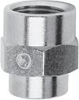 Nickel Plated Brass Pipe Fitting -- 2553 M5-1/8 -- View Larger Image