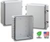 12X10X4 Premium Polycarbonate Enclosure -- H12104HCF