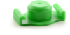 Fisnar QuantX™ 8001036 Syringe Barrel End Cap Green 10 cc -- 8001036