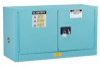 Justrite Chemcor 17 gal Blue Hazardous Material Storage Cabinet - 43 in Width - 24 in Height - 697841-11277 -- 697841-11277