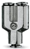 Brass Push-in Fittings - BSP/Metric Size -- 6560 3
