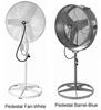 Misting Barrel & Pedestal Fans - 115V
