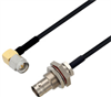 BNC Female to SMA Female Cable Assembly using LC085TBJ Coax, 6 FT -- LCCA30601-FT6 -Image