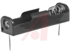 Battery Holder; AA; Polypropylene; PC Mount; 1; Spring; PC Lug -- 70182746 - Image