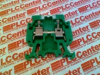 FINGER-SAFE SINGLE CIRCUIT HIGH DENSITY BLOCK, MULTI-RAIL MOUNT, 30 - 12 AWG, GREEN, -- 1492HM1G