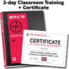 NFPA 70, National Electrical Code (NEC) (2017) Essentials 3-day Classroom Training with Certificate of Educational Achievement - Image