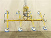 Electric Powered Eight Pad Vacuum Lifter with Powered Tilt -- ET200M8-110-4/65