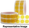 Kapton Polymide Amber Masking Discs -- KD500-K