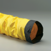 Single-Ply Yellow Neoprene Coated Polyester Fabric Hose -- Springflex® SD 18.0