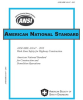 Work Zone Safety for Highway Construction -- ANSI/ASSE A10.47-2015