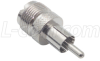 Coaxial Adapter, UHF Female / RCA Male -- BA140