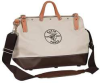 Canvas Tool Bag,Deluxe,16x6x14 In,13 Pkt -- 34E624